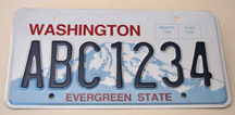 New seven-character license plate format