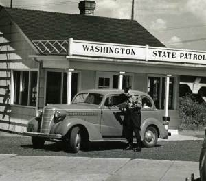 The State Patrol administered driver exams in the 1930's.