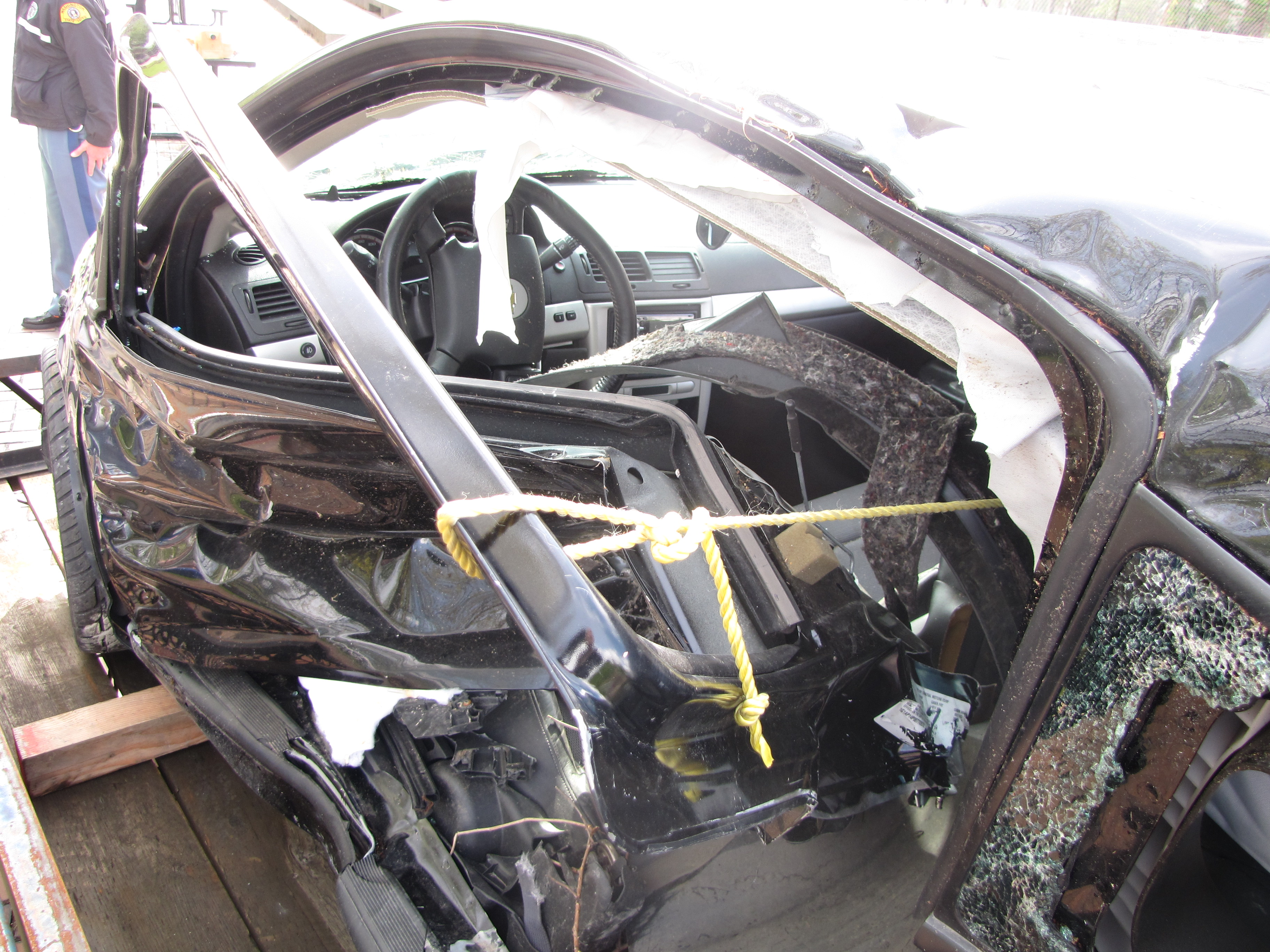 Thurston Auto Plaza >> Car in texting fatal crash on display at state capitol   Licensing Express