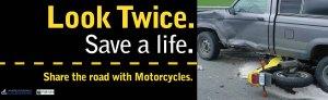 motorcycle safety transit ad