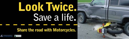 motorcycle safety transit ad