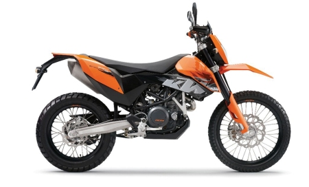 Street legal KTM 690 Enduro