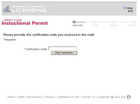 Clark County phishing website