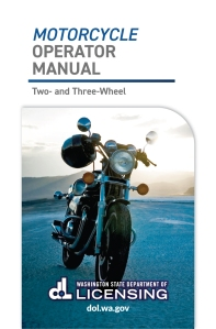 Washington Motorcycle Operator Manual